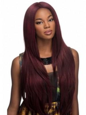 Hübsche Spitzefront Gerade Fantastische Afro Amerikanisch Perücke
