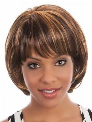Spitzefront Gerade Mit Höher Qualität Afro Amerikanisch Perücke