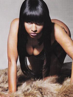 Nicki Minaj Bewundernswerte Vollspitze Lang Gerade Perücke