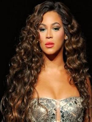 Beyonce Zauberhafte Lang Wellig Perücke