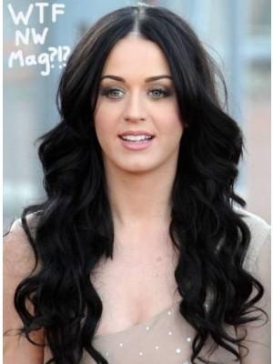 Lange Liebliche Katy Perry Vollspitze Perücke