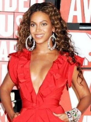 Beyonce Heizbeständig Synthetische Moderne Perücke