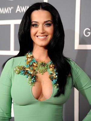 Klassische Katy Perry Gerade Perücke
