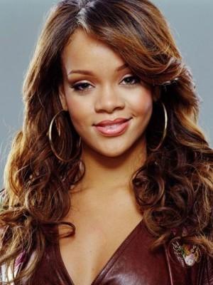 Rihanna Wellige Neue Synthetische Perücke