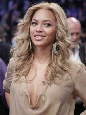 Zaubenhaft Beyonce Schnittige Wellige Perücke