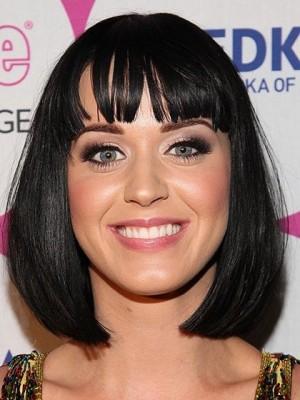 Katy Perry Synthetische Kappenlose Sexy Perücke