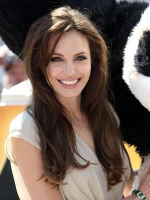 Angelina Schicke Lange Gerade Perücke