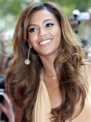 Sagenhaft Synthetische Beyonce Lange Perücke