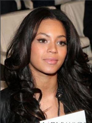 Beyonce 100% Remy Echthaar Wellige Vollspitze Perücke