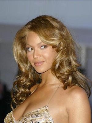 Vollspitze Beyonce Scharmante Wellige 100% Remy Echthaar Perücke