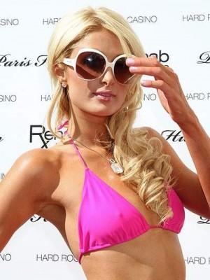 Wellige Spitzefront Lange Paris Hilton Perücke