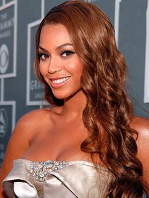Beyonce Spitzefront Wellige Frisur Synthetische Perücke