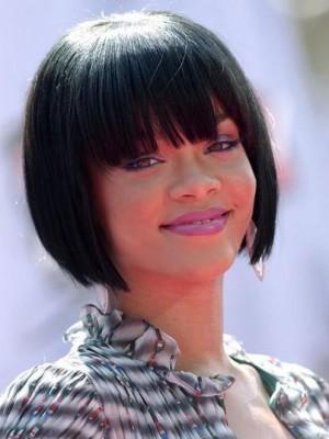Rihanna Frisur Wunderschöne Vollspitze Perücke