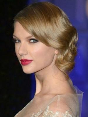 Populär Wellig Spitzefront Taylor Swift Kunsthaar Perücke
