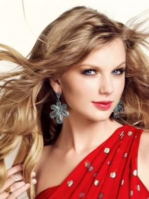 Cool Wellig Taylor Swift Spitzefront Kunsthaar Perücke