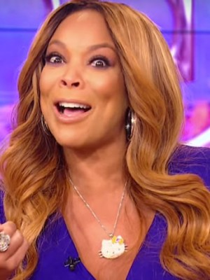 Wendy Williams Glitzernde Wellig Spitzefront Kunsthaar Perücke