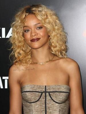 Super Gut Rihanna Frisur Spitzefront Perücke