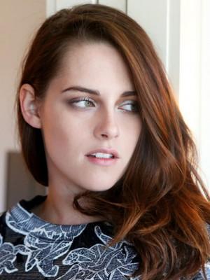 Kristen Stewart Mode Wellig Spitzefront Kunsthaar Perücke