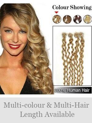 "Elegant 20"" 100% Echthaar Micro Loop Haarverlängerung"