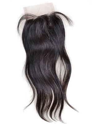 Wirre Remy Haar Frei-geteilte Gerade Spitzeschliessen