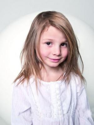 Glänzende Remy Haar Kinder Perücke